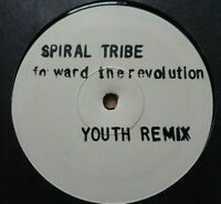 """SPIRAL TRIBE - Forward The Revolution Youth Rmx 12"""" Etched Vinyl Promo - TECHNO"""
