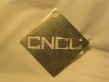 Cncc Cut Out Small Metal Sheet 4 X 4 Metal Cutting Sign Logo Stencil Ornament