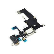 FLEX DOCK CARGA DATOS + CONECTOR JACK AURICULAR + MICROFONO IPHONE 5 BLANCO