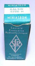Tube détection double diode 6AL5W SFR/CSF - NOS NIB