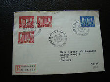 SUEDE - enveloppe 22/9/1961 (cy35) sweden (A)