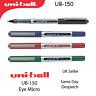UNI-BALL UB-150 EYE FINE ROLLERBALL 0.5mm PEN UB150 BLACK BLUE RED GREEN