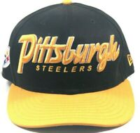 Pittsburgh Steelers New Era NFL Snapback Hat
