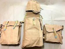 GERMAN WWII ENGINEER ASSAULT PACK - BACKPACK WITH SIDE POUCHES - 3 PCS