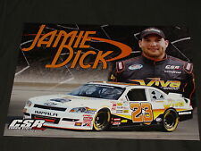 2012 JAMIE DICK #23 VIVA AUTO GROUP NASCAR POSTCARD