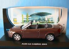 AUDI A4 3.0 V6 B6 CABRIOLET 2003 MARRON EDISON SERIE ORO 1/43 BROWN ROADSTER