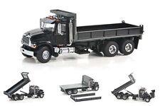 "Mack Granite Flat Bed Dump Truck - ""BLACK"" - 1/50 - Sword #SW2102-K"