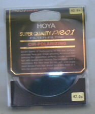 Hoya 62 62mm THIN CIRCULAR POLARIZER SUPER HMC PRO 1  Filter    X62CRPLPRO   NEW
