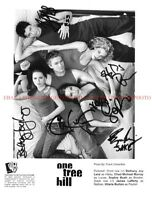 ONE TREE HILL TV SHOW CAST AUTOGRAPHED 8x10 RP PHOTO BY 6 SOPHIA BUSH HILLARY