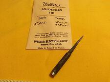 "Weller Soldering Tip #5-AIL 1/4"" Shank 1/16"" Wide Flat Tip"