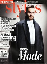 STYLES 2012:  PIO MARMAÏ top model !!! TOD'S_MIKA_OXMO PUCCINO_GUILLAUME HENRY