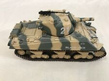 1998 Matchbox Collectibles 1:72 Scale WWII Sherman M4A3/105 mm Black Jack TANK