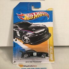 #2  BMW Z4 M #18 * BLACK * PREMIERE 2012 Hot Wheels * D27