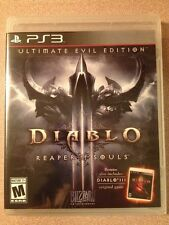 New Diablo III Reaper of Souls Ultimate Evil Edition PS3. (Brand New)