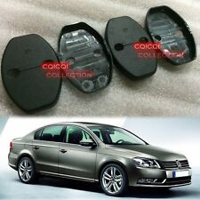VW 2011~2014 Passat B7 Sedan Wagon Door Lock Striker Cover 4pcs ◎