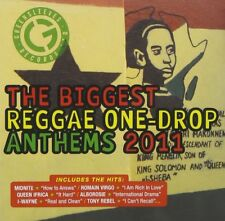 BIGGEST REGGAE ONE DROP ANTHEMS 2011  CD NEU