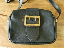 Authentic BURBERRY Soft Grain Smooth Leather Shoulder Bag Authenticate First
