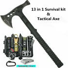 Camping 13 In 1 Survival Kit Tomahawk Emergency Equipment EDC Tool Tactical Axe