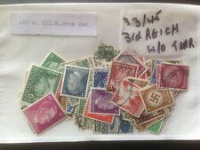 100 Diferentes Alemania 3rd Reich (1933/45 sin territorios) Colección de sellos