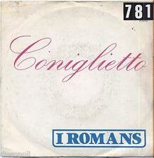"I ROMANS - Coniglietto - VINYL 7"" 45 LP 1976 VG/VG- CONDITION"