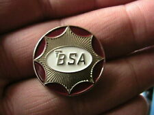 BSA MOTORCYCLE BIKER PIN BADGE MOTORBIKE MOTOR BIKE CYCLE RACING