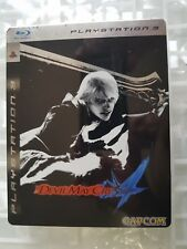 PS3 SONY PLAYSTATION 3 DEVIL MAY CRY 4 STEEL BOX