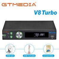 Récepteurs satellite V8 Turbo HD Terrestre FTA TV décodeurs, pour Astra, Hotbird