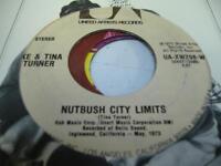 Soul 45 IKE & TINA TURNER Nutbush City Limits on United Artists