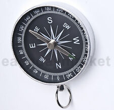 Small Metal Pocket Compass for Hiking Camping Navigation Map Orientation