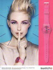Publicité Advertising 2011  Montre SWATCH