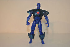 STEALTH IRON MAN 1995 MARVEL toybiz blue action figure avengers tech action