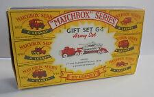 Repro Box Matchbox MOY Giftset G - 5 Army Set