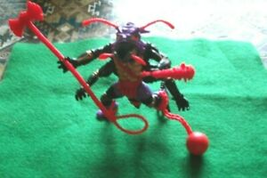 PLAYMATES MIRAGE STUDIOS 1992 TMNT LOOSE ANTHRAX COMPLETE WITH ALL ACCESSORIES