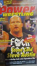 Power Wrestling 01/2004 WWE WWF TNA + 2 Poster (Steve Austin, Batista)