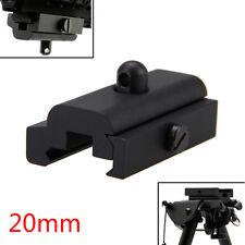 Bipod Sling Swivel Adapter Weber Picatinny 20mm Rail Mount für Rifle Gun