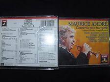 COFFRET 2 CD MAURICE ANDRE / CONCERTOS POUR TROMPETTE /