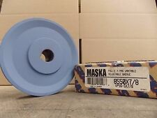"""Maska Pulley 8550X7/8 VARIABLE PITCH SHEAVE GROVES: 1 8550X7/8 5.35"""" OD"""