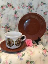 Vintage Retro 18 Piece Tea Set Table Tops By Cartwrights