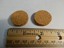 TWO ORIGINAL US ARMY CANTEEN CORKS