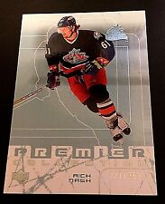 RICK NASH 2003-04 Upper Deck PREMIER Collection Card #17 SN #d /399 BLUE JACKETS