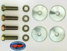 60-85 Upper Lower Control A Arm Bushings Suspension Cross Shaft Bolts Washers UA