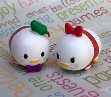 Tsum Tsum Christmas Donald and Daisy Duck set Import Hard PVC Figure