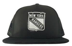 adidas New York Rangers Veteran's Day Flat Brim Snapback Adjustable Hat