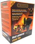 Cosystove® 4 Blade Heat Powered Stove Top Fan Wood Log Burner Eco Friendly New
