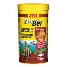 JBL NovoBel Novo Bel 1 Liter Flockenfutter Hauptfutter für alle Aquarienfische