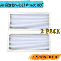 Ximoon 2 Pack True Air Filters Fit Hamilton Beach 04383 04384 04385 #990051000