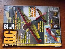 8µ? Revue RC Pilot n°18 plan encarté Miles Sparrowhawk / Yak 54 Voltij P38