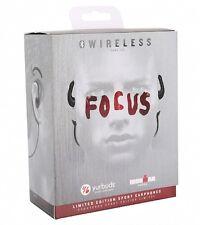 Yurbuds Focus Limited Edition 30002 Wireless Sport Earphones Black/Red NEW NIB