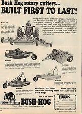 Original 1976 Bush Hog Magazine Ad - 25th Anniversary
