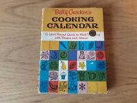 Betty Crocker's Cooking Calendar (1962, Spiral, 1st Edition 1st Printing)